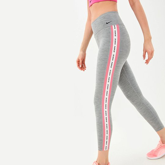 Nike One Crop Tights, Grey