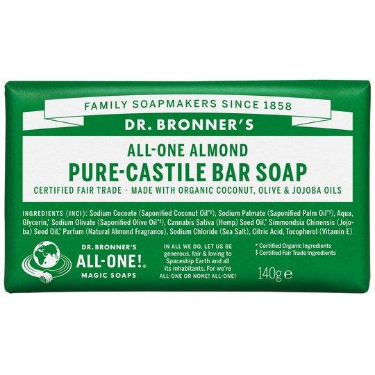 Magic Soaps All-One Hemp Almond, 140 g Dr. Bronner's Luonnonkosmetiikka