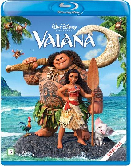 Disney Vaiana Blu-Ray