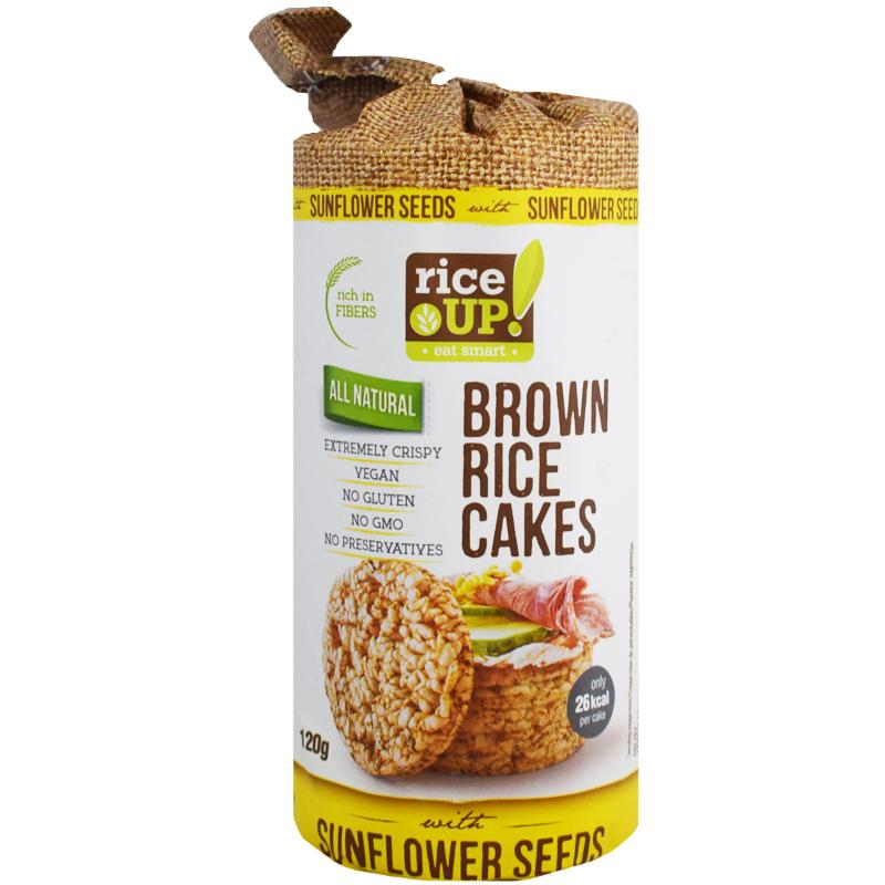 Täysjyväriisikakut Sunflower Seeds - 46% alennus