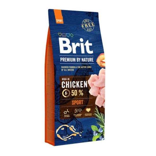 Brit Premium By Nature Dog Adult Sport Chicken 15 kg