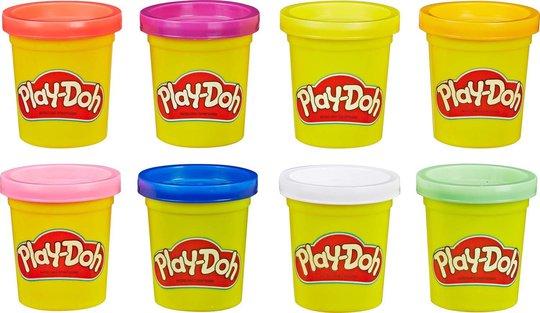 Play-Doh Lekeleire Rainbow 8-pack