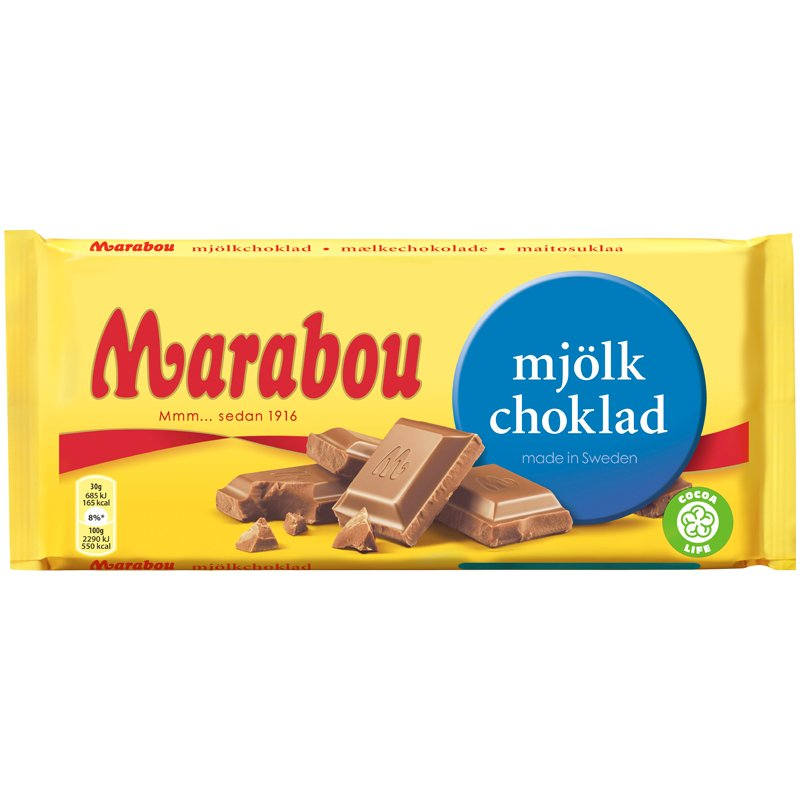Mjölkchoklad - 52% rabatt