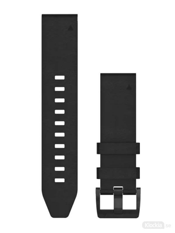 Garmin QuickFit 22mm - Klockarmband, Svart Läder