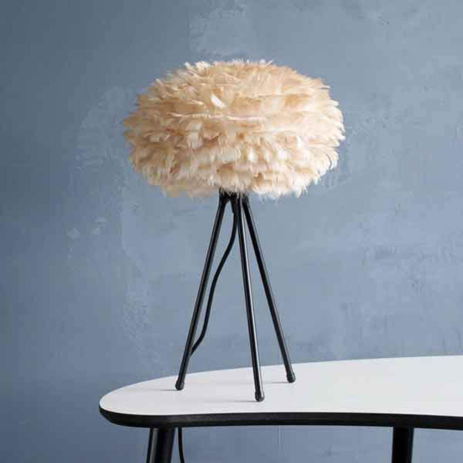UMAGE Eos Mini bordlampe brun/tripod svart