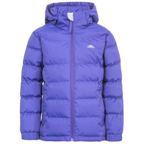 Trespass Kid's Padded School Jacket Various Colours Marey - Purple Rain 2 to 3 Years