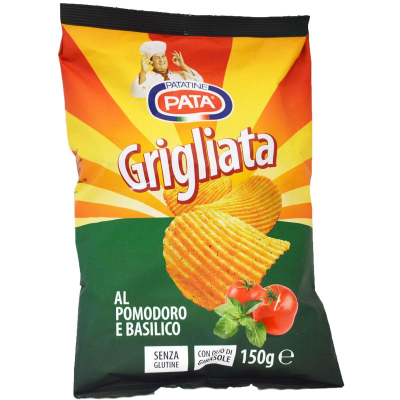 Chips Tomat & Basilika Glutenfria 150g - 44% rabatt