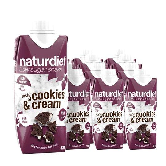 Måltidsersättning Shake Cookies & Cream 12-pack - 29% rabatt