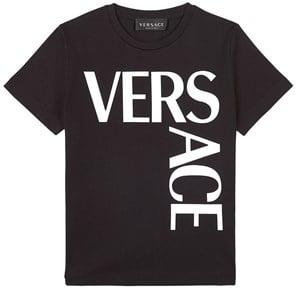 Versace Logo T-shirt Svart 5 år