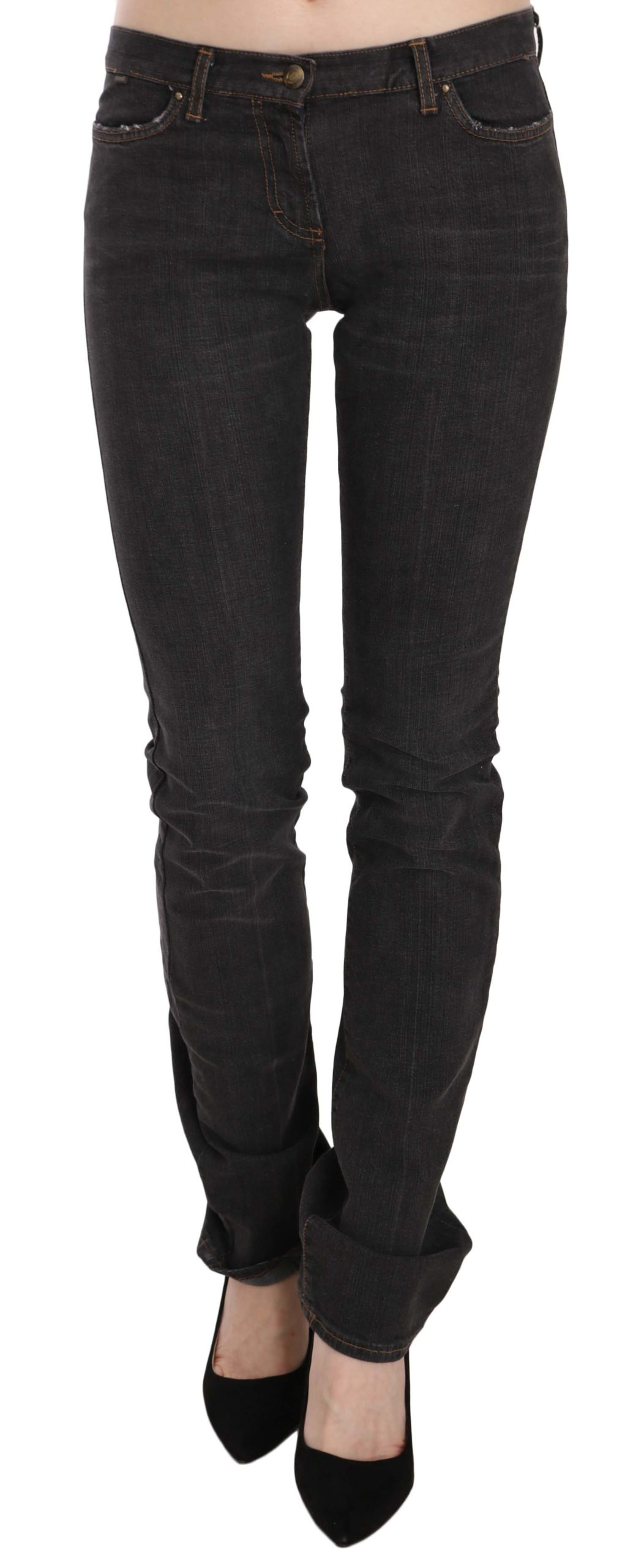 Just Cavalli Women's Low Waist Skinny Denim Trouser Black 57515154 - W26