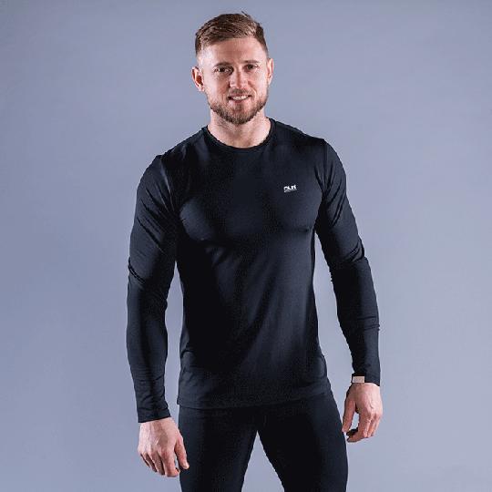 CLN Dawn Longsleeve Shirt, Black