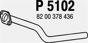 Pakoputki, Edessä, RENAULT CLIO III, CLIO Grandtour III, MEGANE II, MEGANE Kombi II, MEGANE Sedan II, MODUS / GRAND MODUS, SCÉNIC II, 82