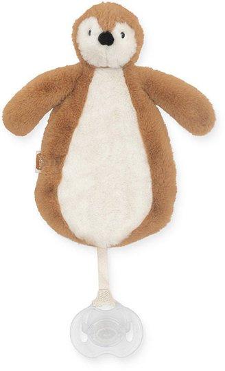 Jollein Smokkesnor med Koseklut Penguin, Caramel