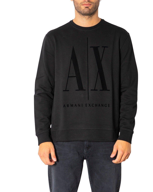 Armani Exchange Women's Sweatshirt Black 198477 - black-1 XS
