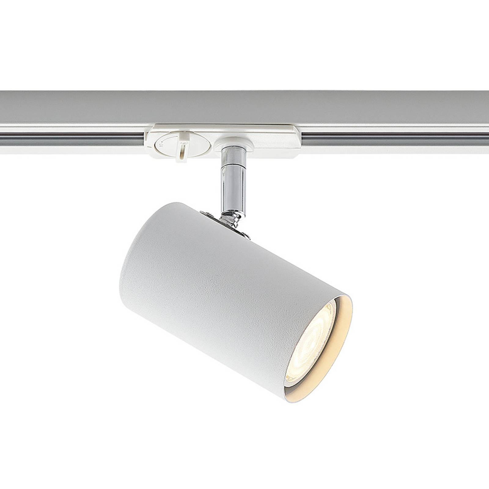 Lindby Ties-LED-kiskokohdevalaisin, valkoinen