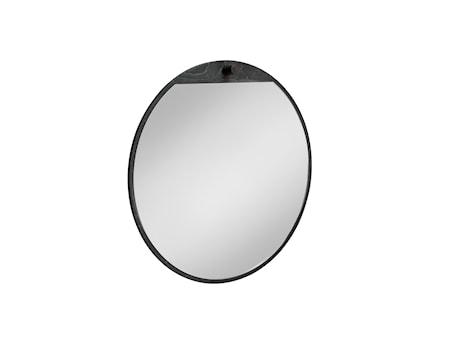 Tillbakablick spegel svart Ø 500 mm