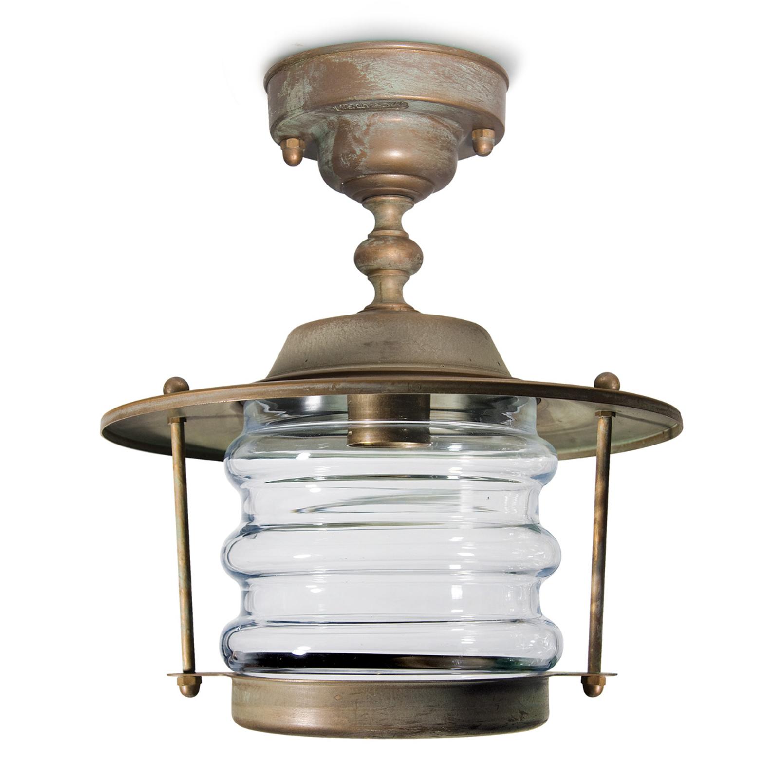 Adessora-ulkokattolamppu, merivedenkest. Ø 22,5 cm