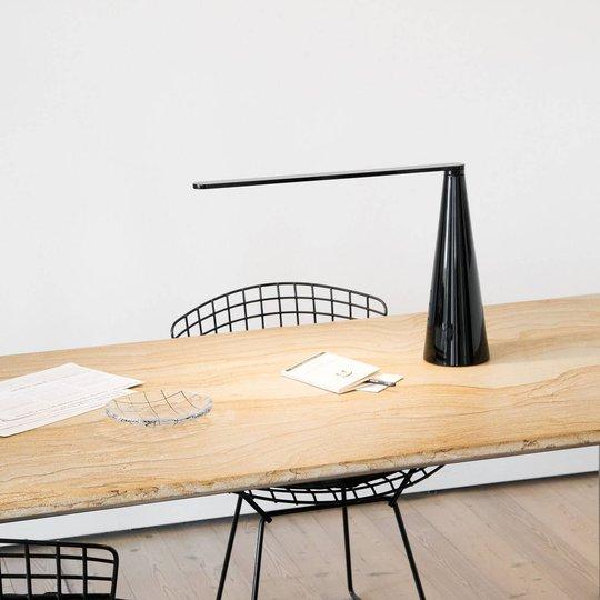 Martinelli Luce Elica LED-bordlampe, svart
