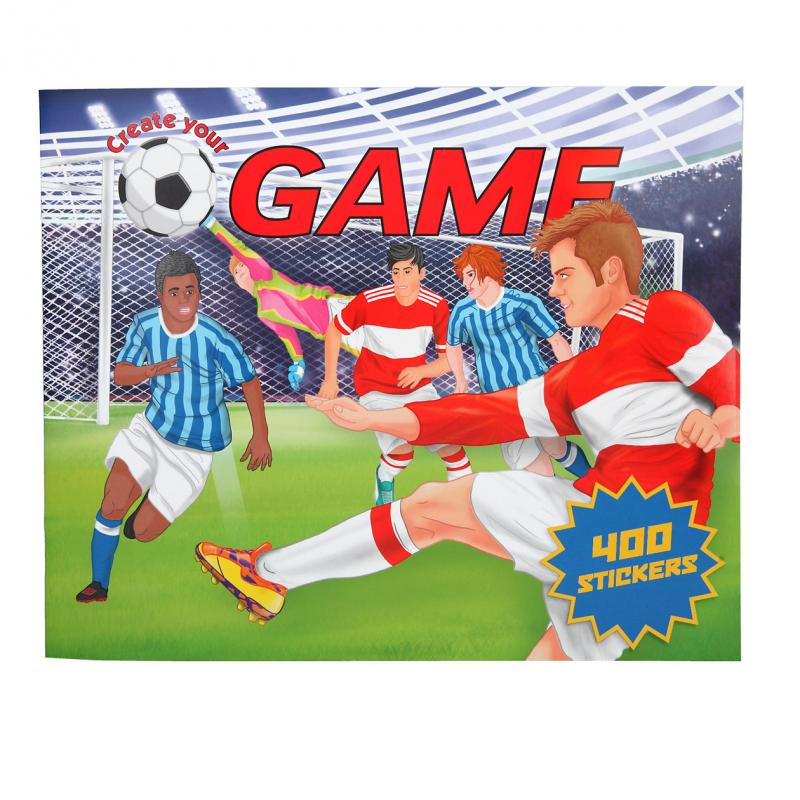 Create Your - Football Game Colouring Book (0411405)