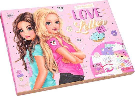 TOP Model Brevpapir Box Love