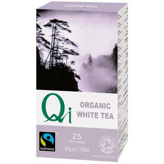 Qi Teas Vitt Te, 25 påsar