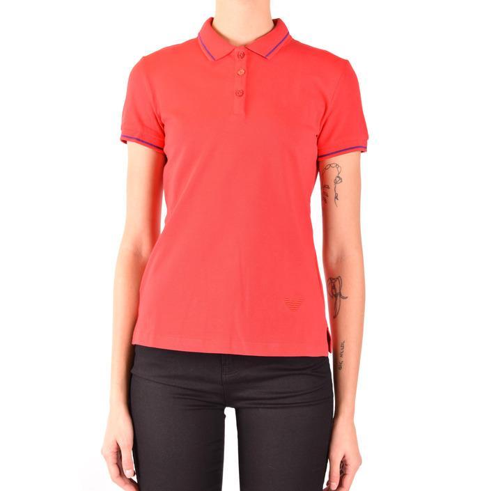 Emporio Armani Women's Polo Shirt Red 184705 - red 36
