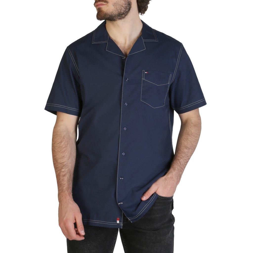 Tommy Hilfiger Men's Shirt Blue MW0MW10933 - blue S