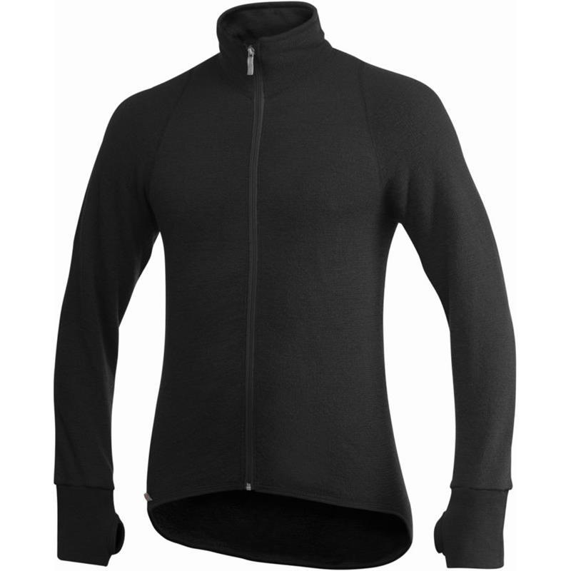 Woolpower Full Zip Jacket str. L Jakke m/glidelås 400g/m2 fra Ullfrottè