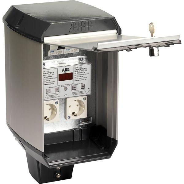 ABB CW 200 Bilvarmersentral temperaturstyrt elektronisk tidsur