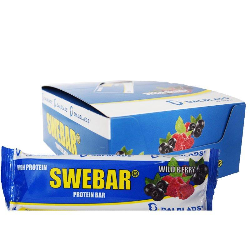 """Laatikollinen Proteiinipatukoita """"Wild Berry"""" 20 x 55g - 50% alennus"""