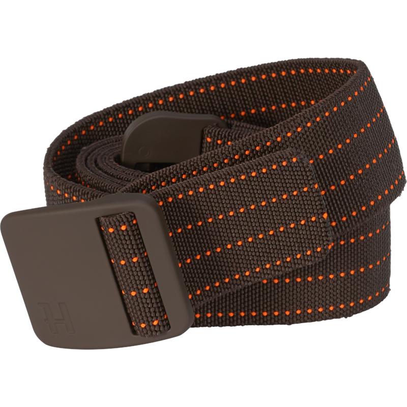 Härkila Wildboar Pro Tech belte XL/XXL Elastisk belte, Brown/Orange Blaze