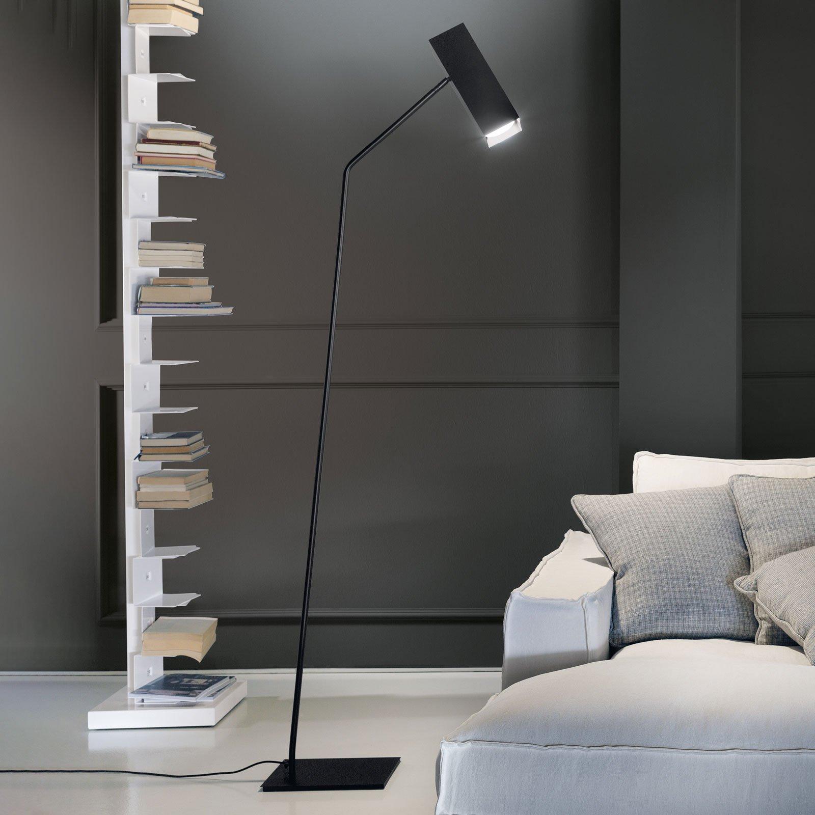 Modo Luce Dejavú gulvlampe svart