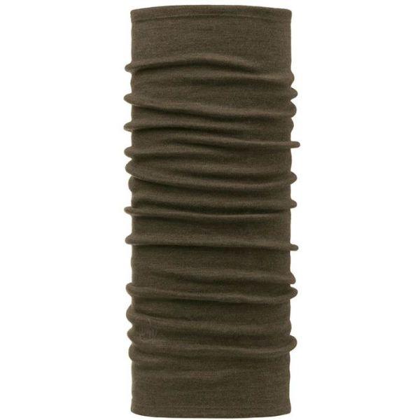 Buff Merino Wool Halsvarmer brun