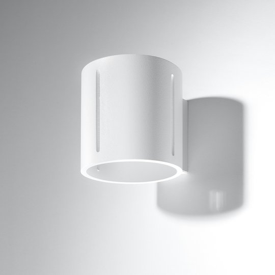 Vegglampe Topa up/down, hvit lampekropp