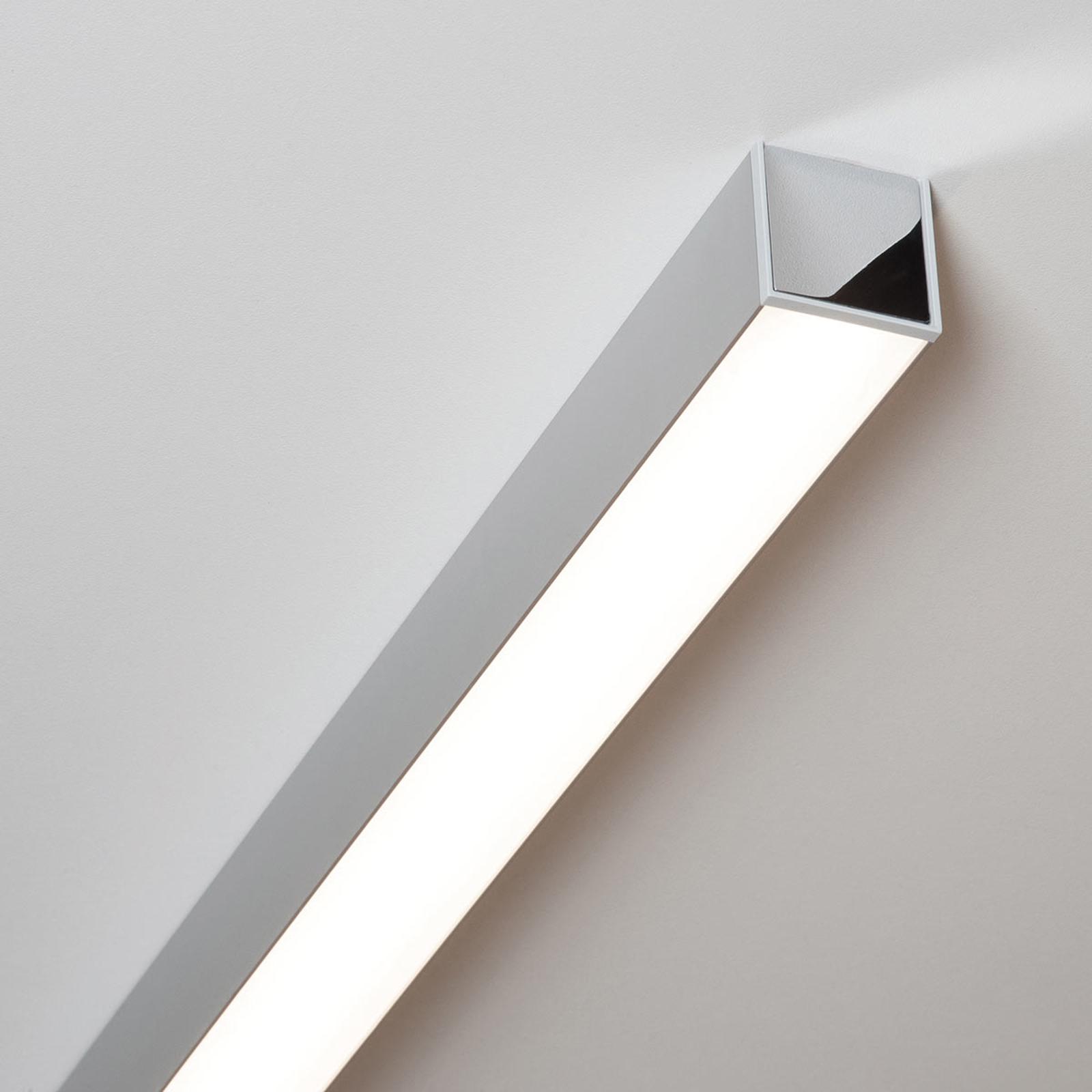 LED-kattovalaisin Ride 85,7 cm, eloksoitu alumiini