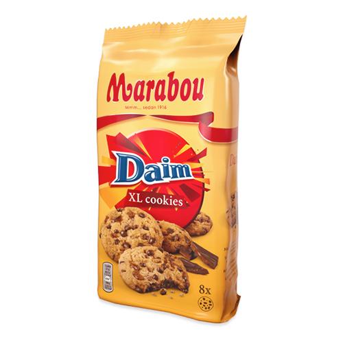 Marabou XL Cookies Daim - 184 gram