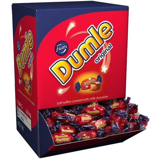 """Karkkilaatikko """"Dumle Original"""" 3kg - 20% alennus"""