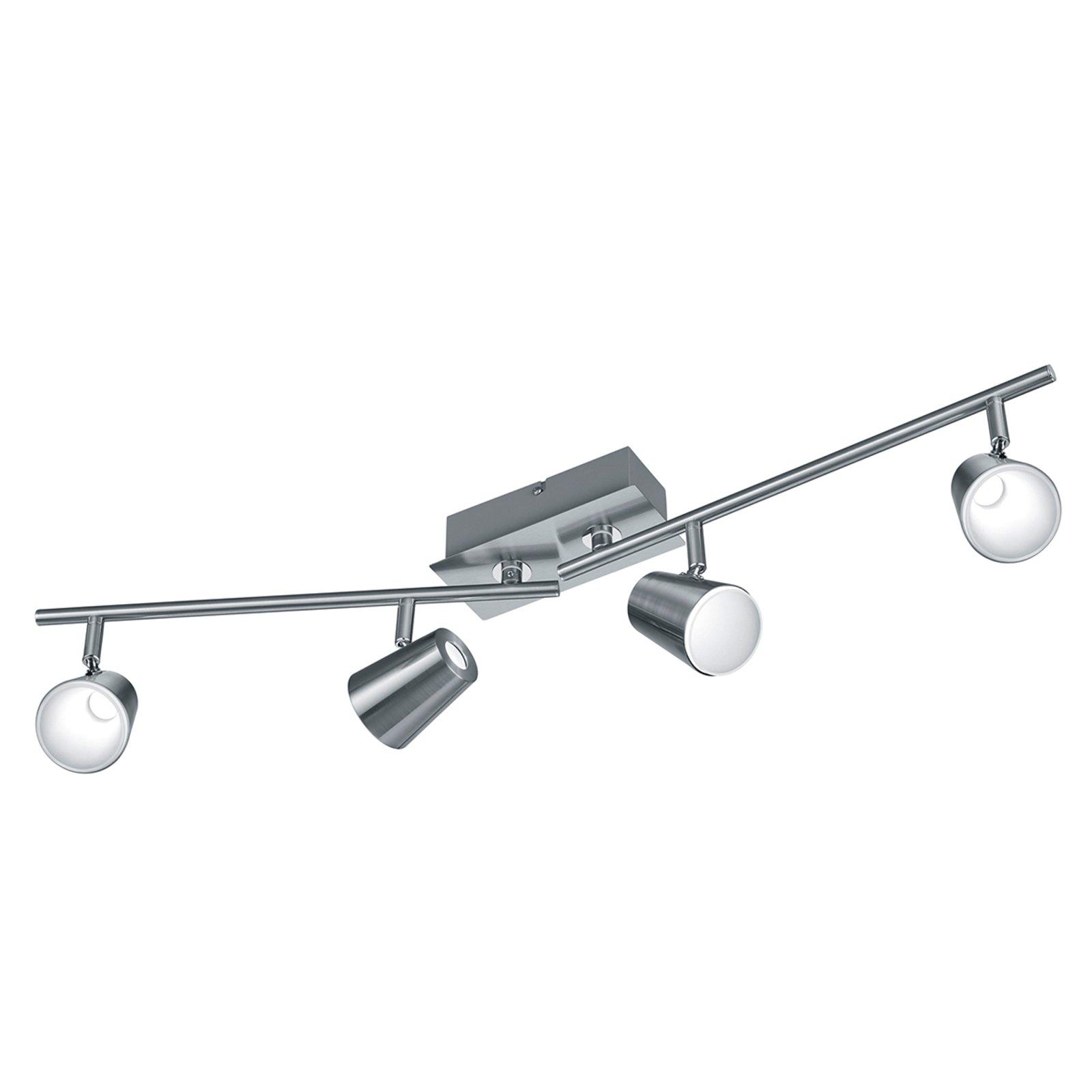 Moderne designet LED-taklampe Narcos 4 lyskilder