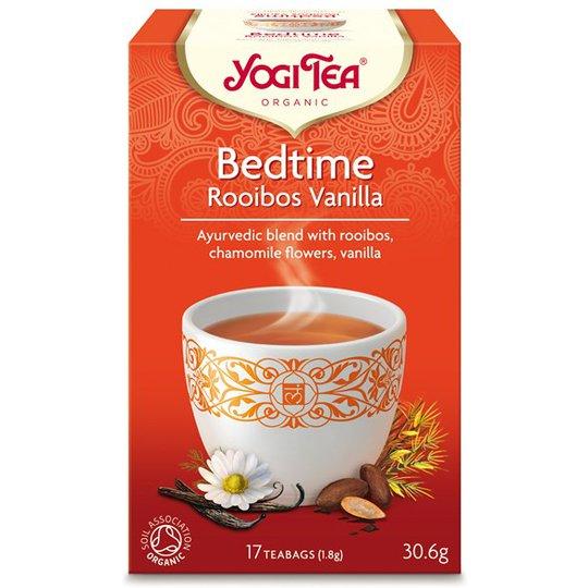 Yogi Tea Bedtime Rooibos Vanilla, 17 påsar