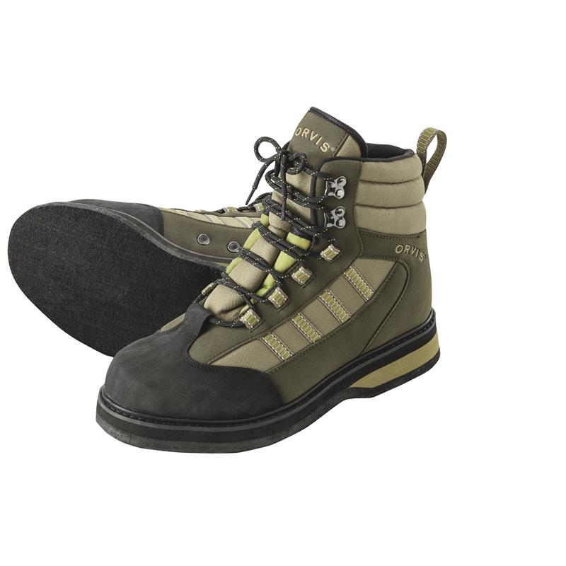 Orvis Encounter Boots Felt 13 (46) Olive - Filtsåle