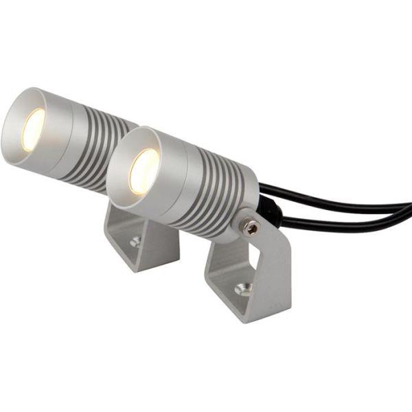 Hide-a-Lite Spotlight Garden Kit Minilyskaster aluminium, 3000 K