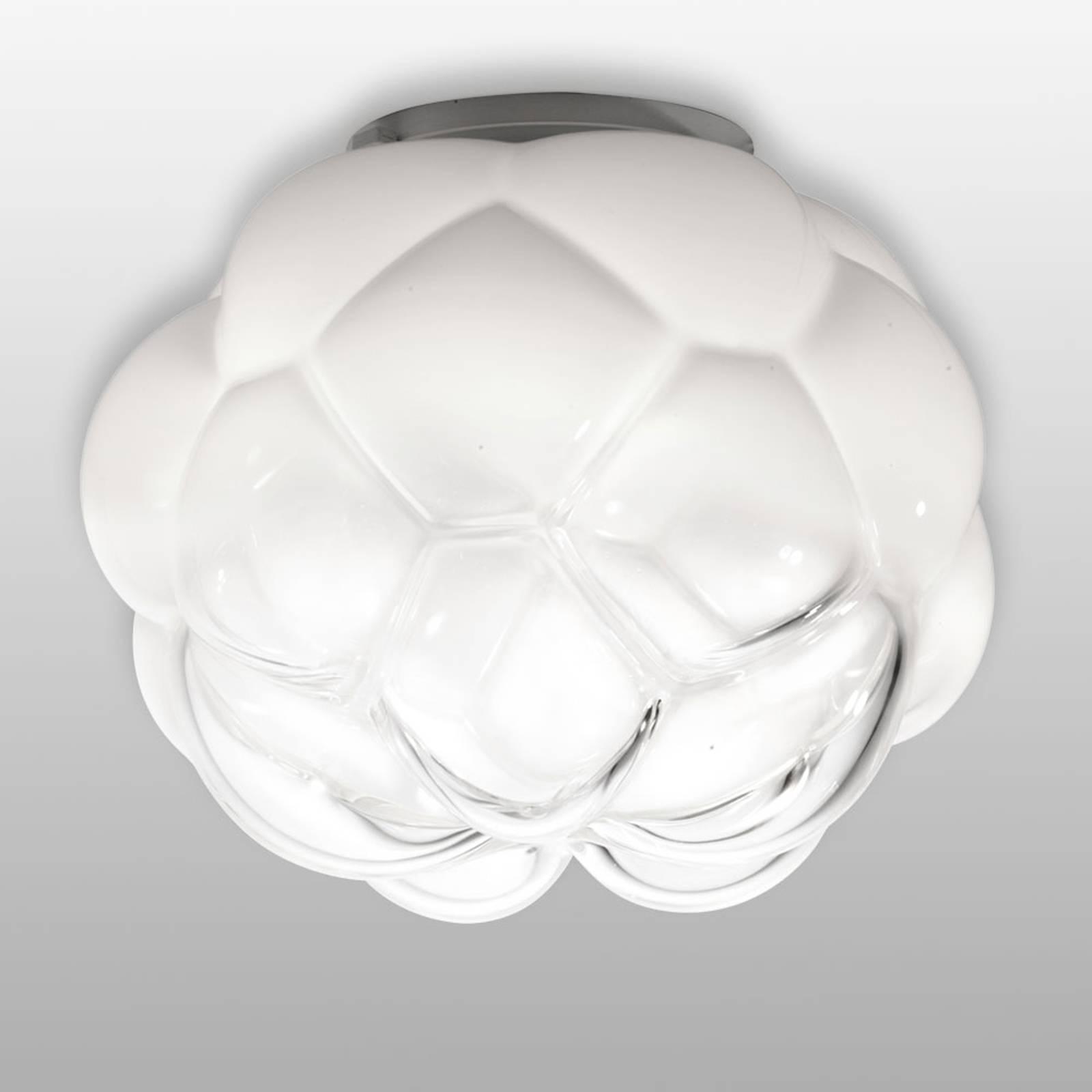 Pilvimäinen LED-kattovalaisin Cloudy, 40 cm