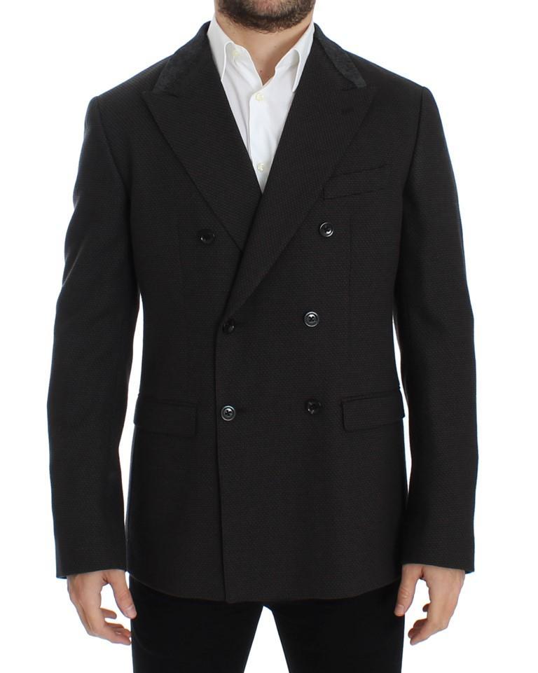 Dolce & Gabbana Men's wool slim fit Blazer Brown SIG12226 - IT48 | M