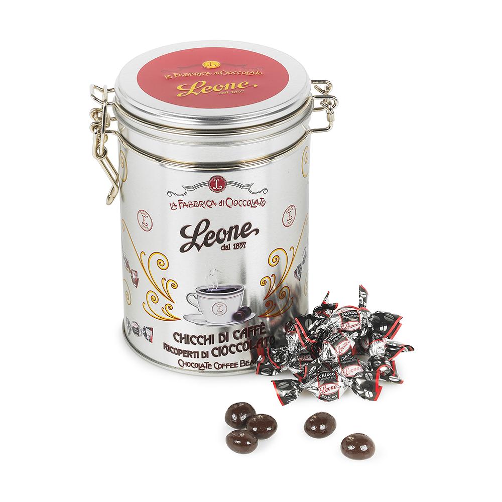 Dark Chocolate Coffee Beans 150g by Leone