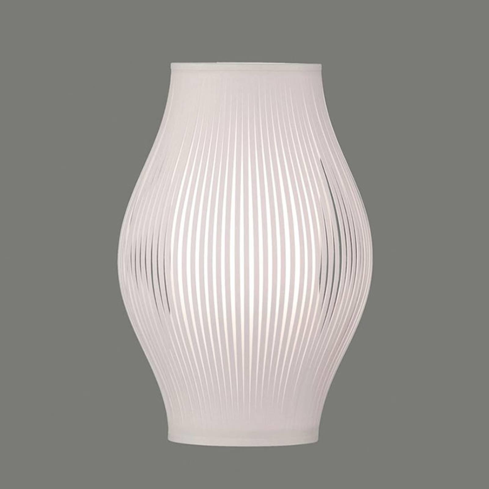 Bordlampe Murta, 36 cm, hvit