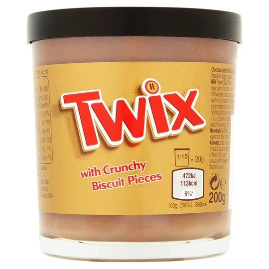 """Twix """"Spread With Crunchy Biscuit"""" 200g - 26% rabatt"""