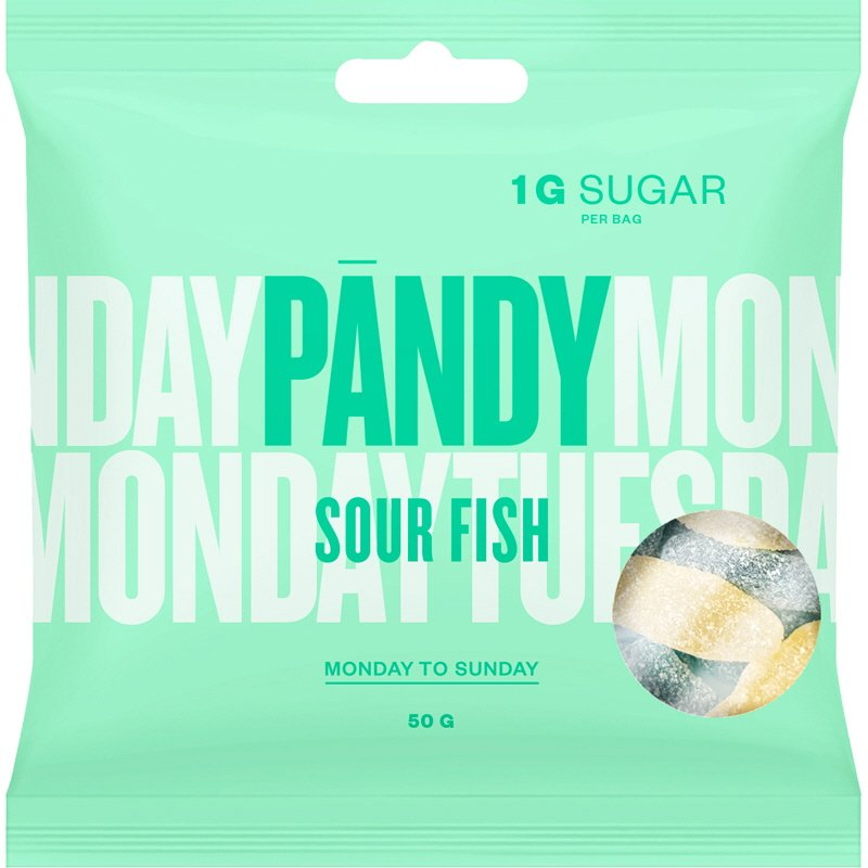 Godis Sour Fish - 20% rabatt