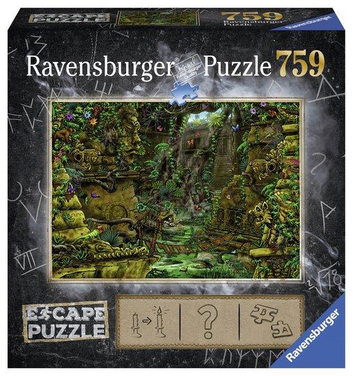 Ravensburger Puslespill Escape Tempel Angkor Vat 759 Biter