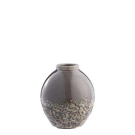 Vase Clary 21cm Mørkegrå