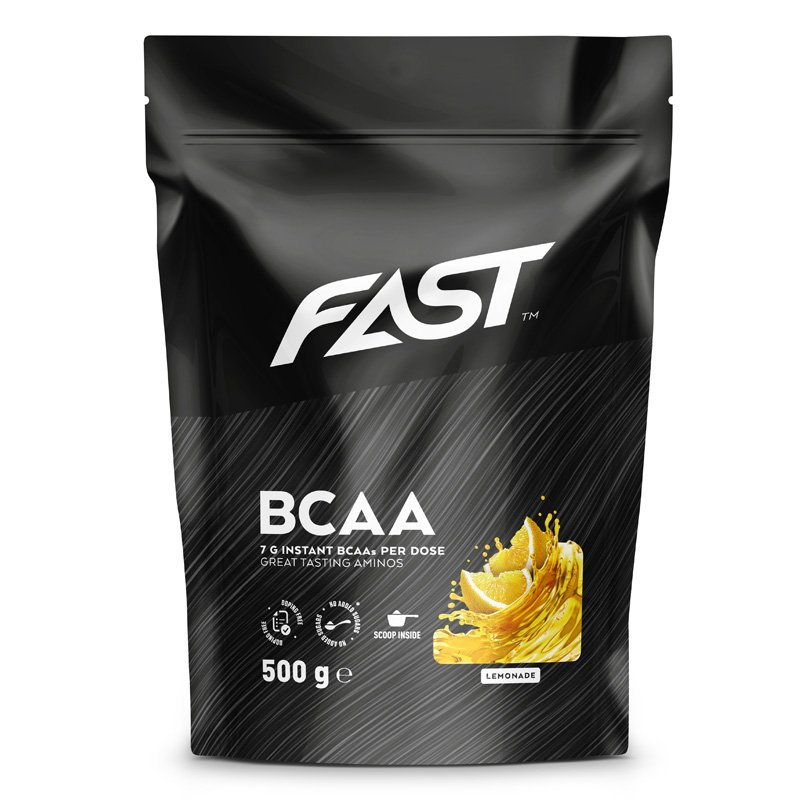 Ravintolisä BCAA Lemonade 500g - 68% alennus